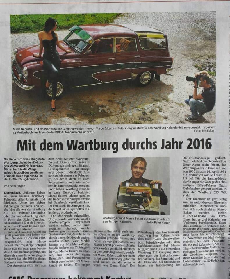 Pressebericht OTZ 2016