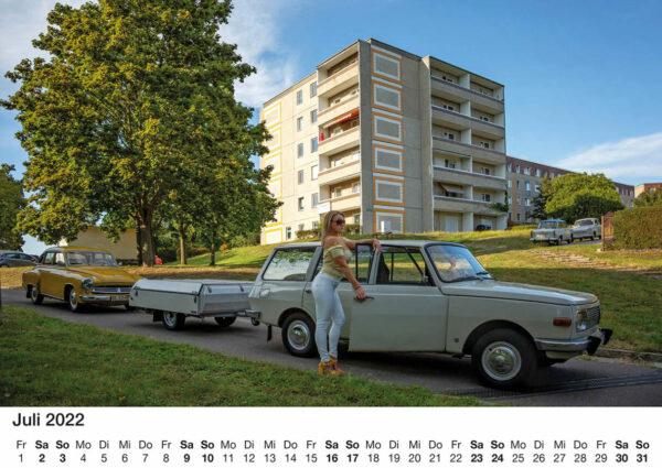 Wartburgkalender 2022 - Exklusiv und sexy limitierte Auflage