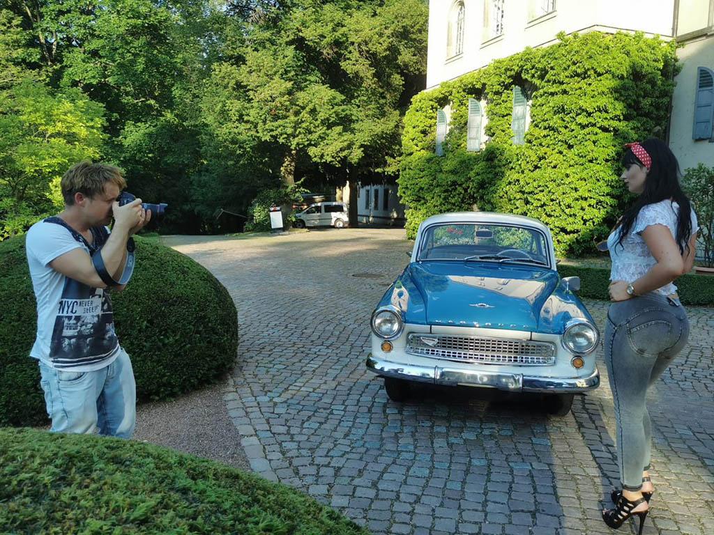 Foto Shooting für den Wartburgkalender 2022